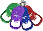 Sandal Bottle Opener Key Rings
